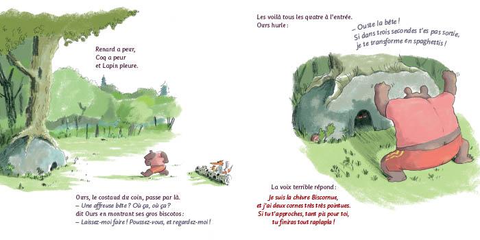 La Chèvre Biscornue Poche Didier Jeunesse