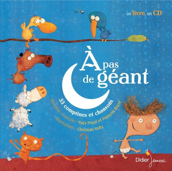 A Pas De Geant Didier Jeunesse