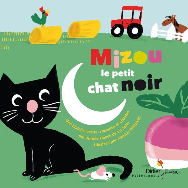 Mizou le petit chat noir