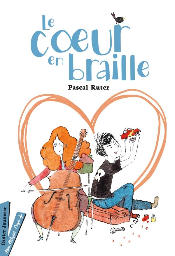 Le Coeur en braille - version jeunes lecteurs