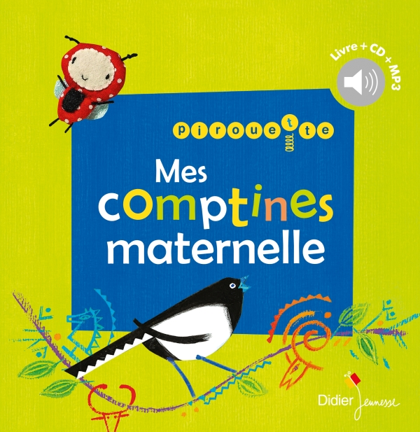 Pirouette, mes comptines maternelle